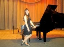 Буруруева Маргарита на конкурсе юных исполнителей